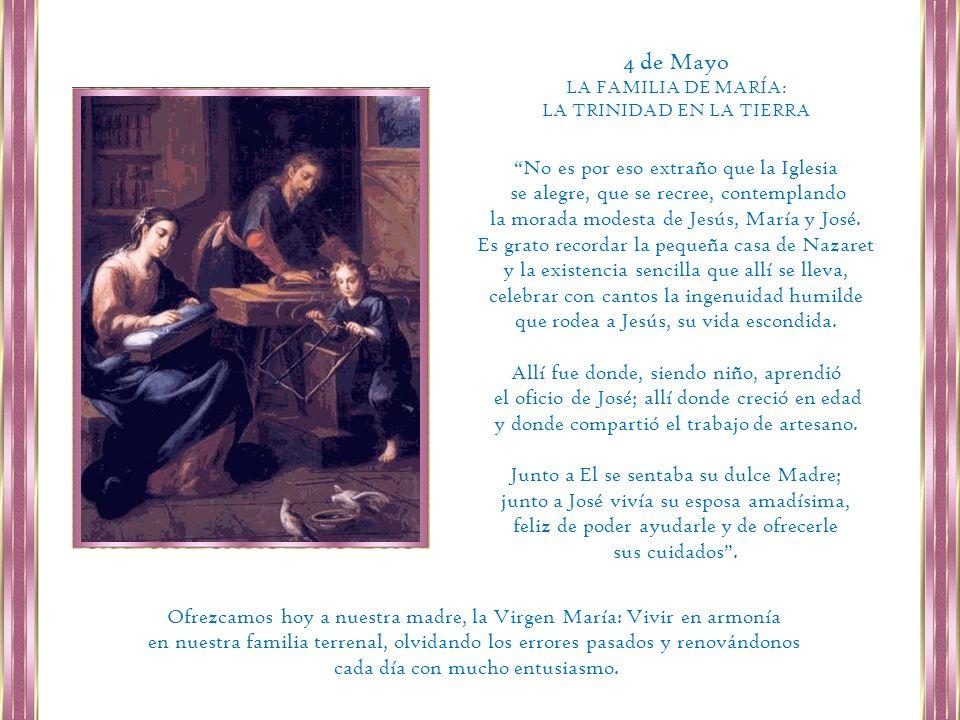 Haz tu experiencia particular del amor materno de María.