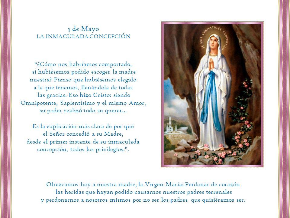 Si buscas a María, encontraras a Jesús.