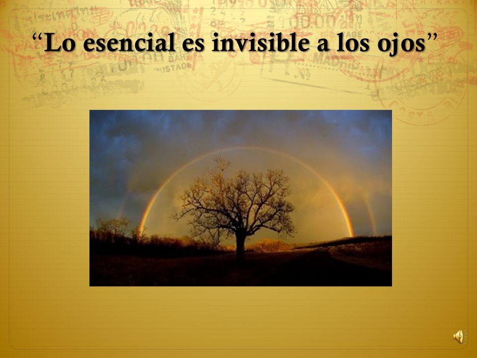 Lo esencial es invisible a los ojos Lo esencial es invisible a los ojos