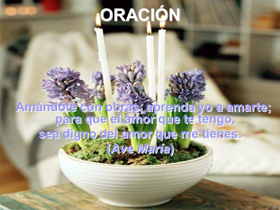 Obsequio.- Corresponder con fidelidad a las inspiraciones de la gracia.Corresponder con fidelidad a las inspiraciones de la gracia.
