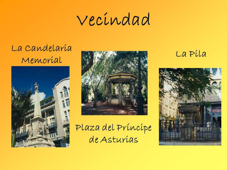 Vecindad La Candelaria Memorial La Pila Plaza del Príncipe de Asturias