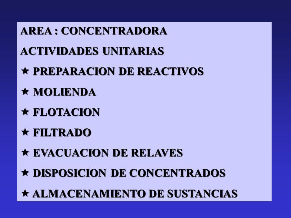 ALCANCES GENERALES AREA : MINA ACTIVIDADES UNITARIAS : PERFORACION PERFORACION TRONADURA TRONADURA CARGUIO Y TRANSPORTE CARGUIO Y TRANSPORTE DISPOSICI