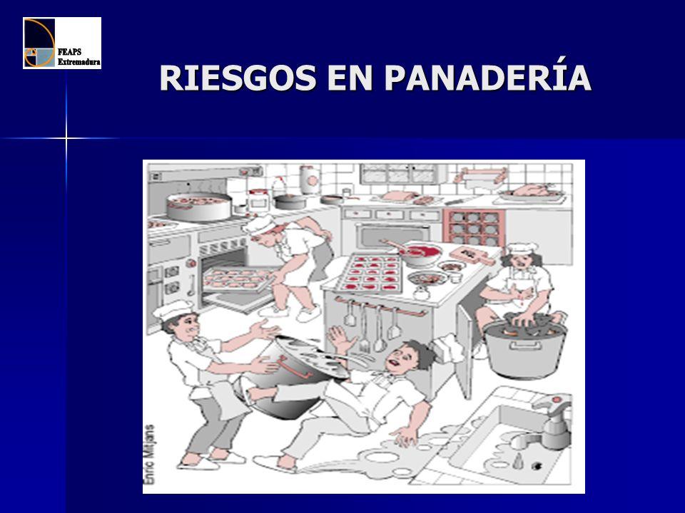 RIESGOS EN PANADERÍA