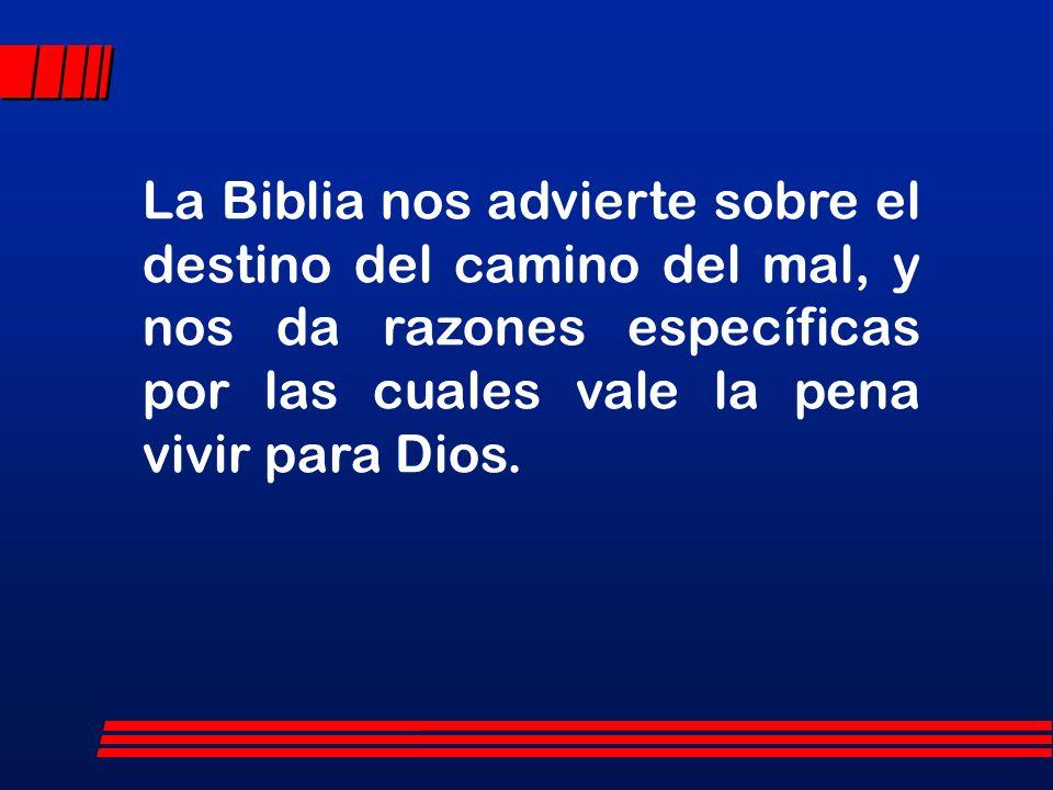 DESARROLLO Vale la pena vivir para Dios, primeramente: I. PORQUE LA VIDA ES CORTA