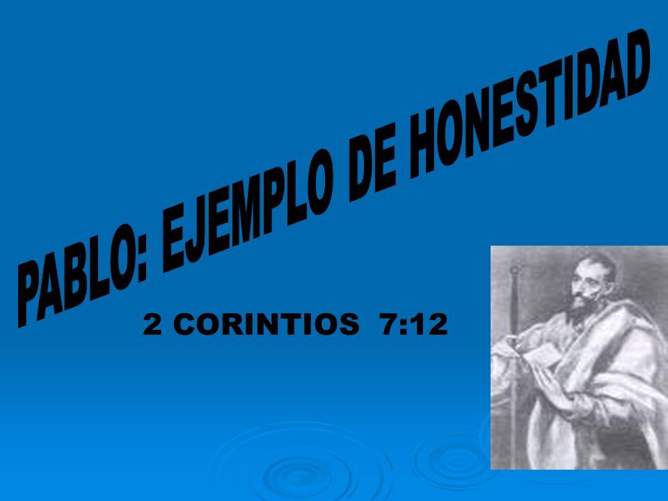 2 CORINTIOS 7:12