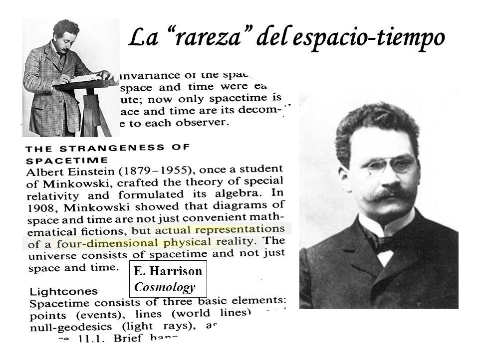 La rareza del espacio-tiempo E. Harrison Cosmology