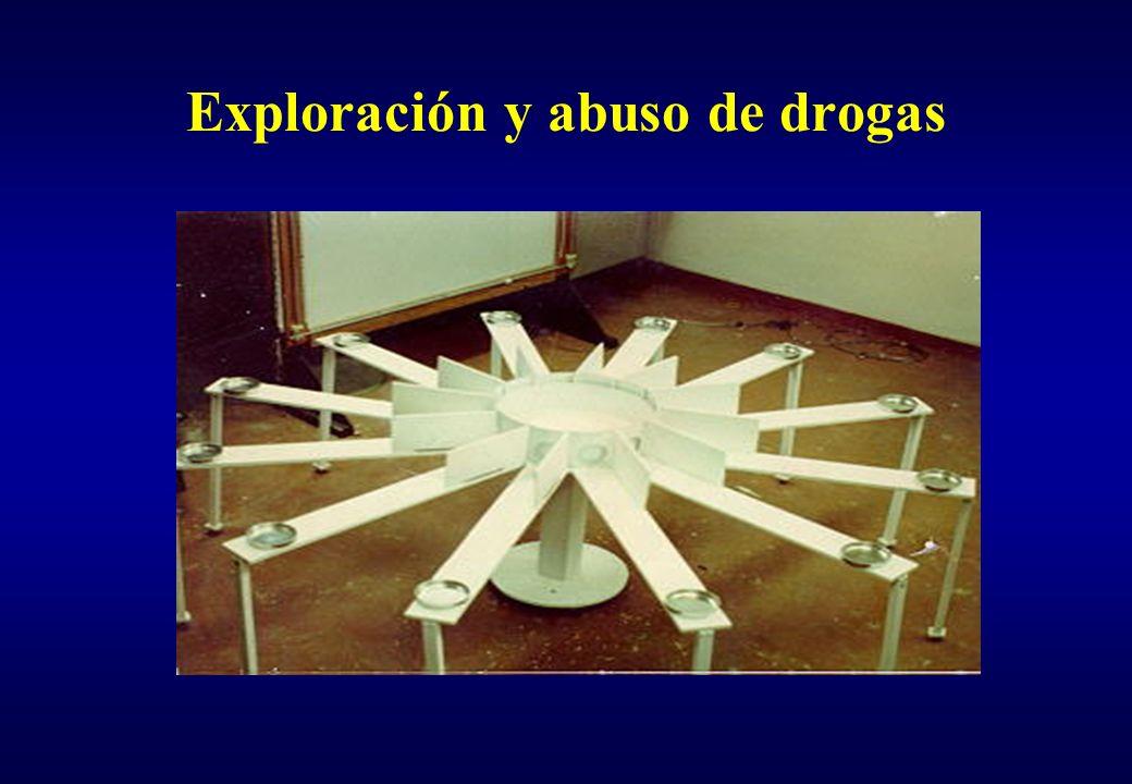 Exploración y abuso de drogas