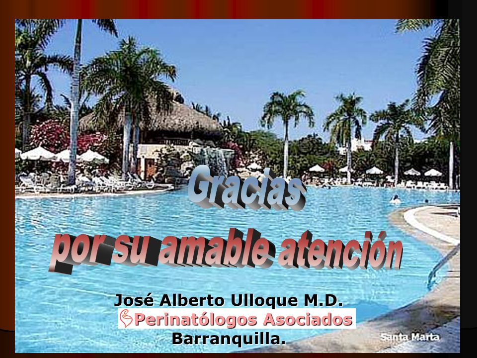 José Alberto Ulloque M.D. Perinatólogos Asociados Perinatólogos AsociadosBarranquilla.