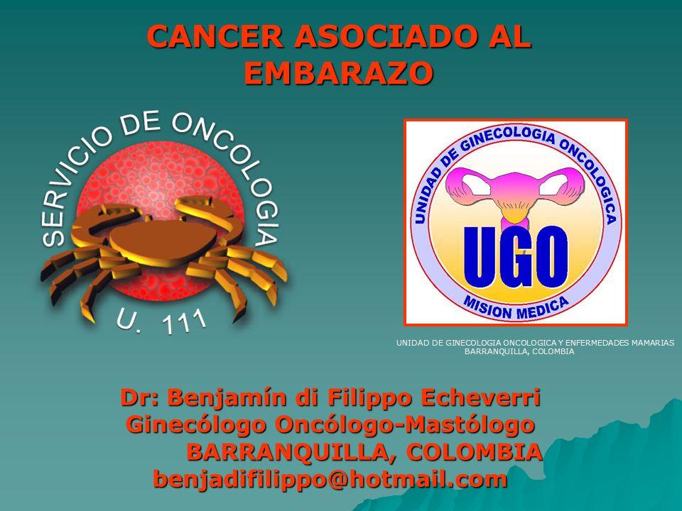 UNIDAD DE GINECOLOGIA ONCOLOGICA Y ENFERMEDADES MAMARIAS BARRANQUILLA, COLOMBIA Dr: Benjamín di Filippo Echeverri Ginecólogo Oncólogo-Mastólogo BARRAN