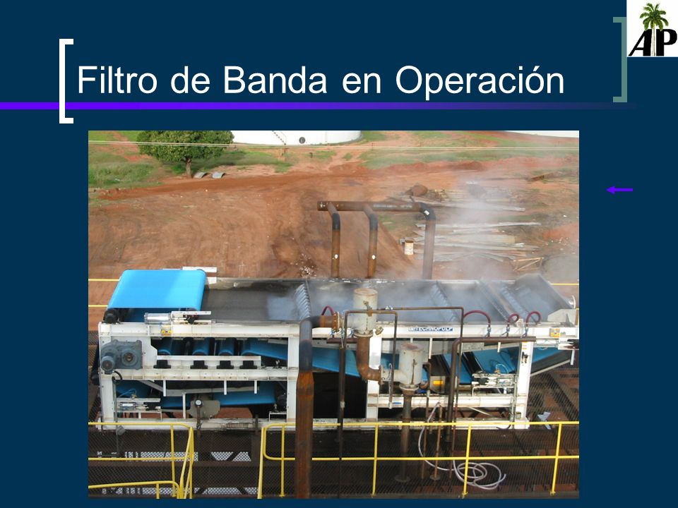 Hannia Thiele Filtro de Banda en Operación