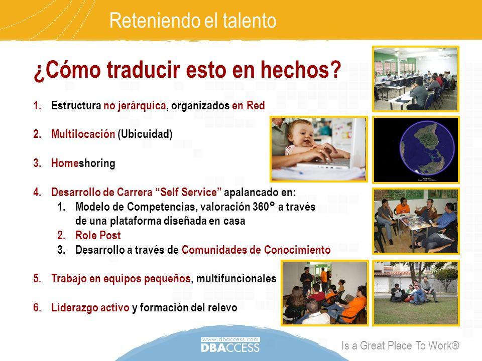 Is a Great Place To Work® Reteniendo el talento ¿Cómo traducir esto en hechos.