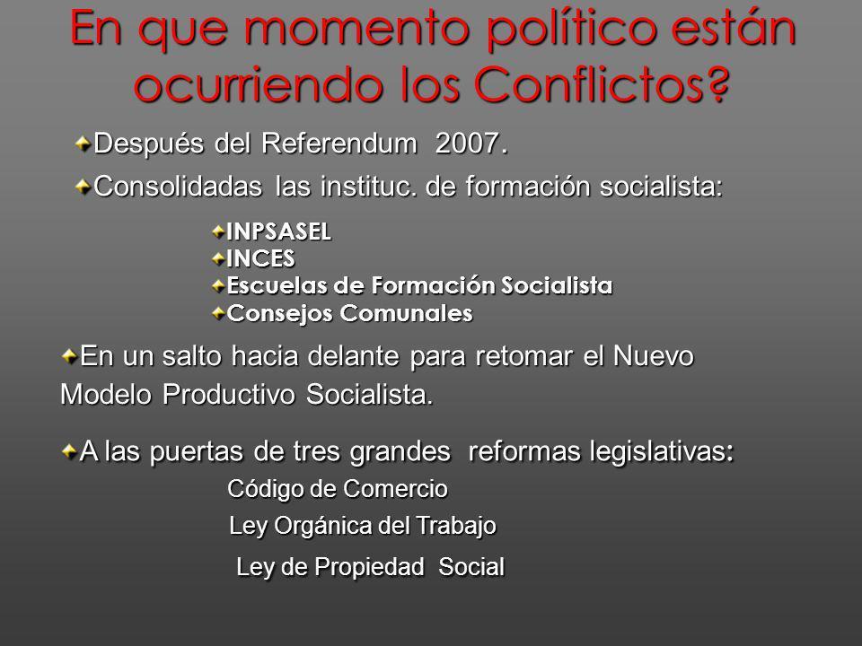 El Proyecto Nacional Simón Bolívar propone un horizonte de veinte años, a partir el comienzo de las acciones transformadoras de la economía y de la sociedad.