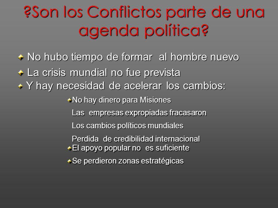 Donde ocurren losConflictos? Donde ocurren los Conflictos? Zonas Laborales estratégicas