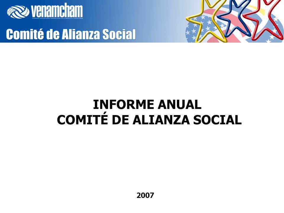 2007 INFORME ANUAL COMITÉ DE ALIANZA SOCIAL