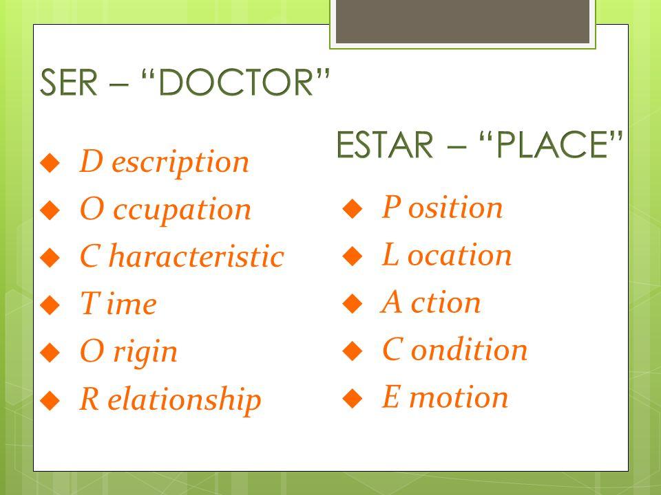 Description essential qualities of a person (name, physical description) Yo soy Raúl. Ella es alta.
