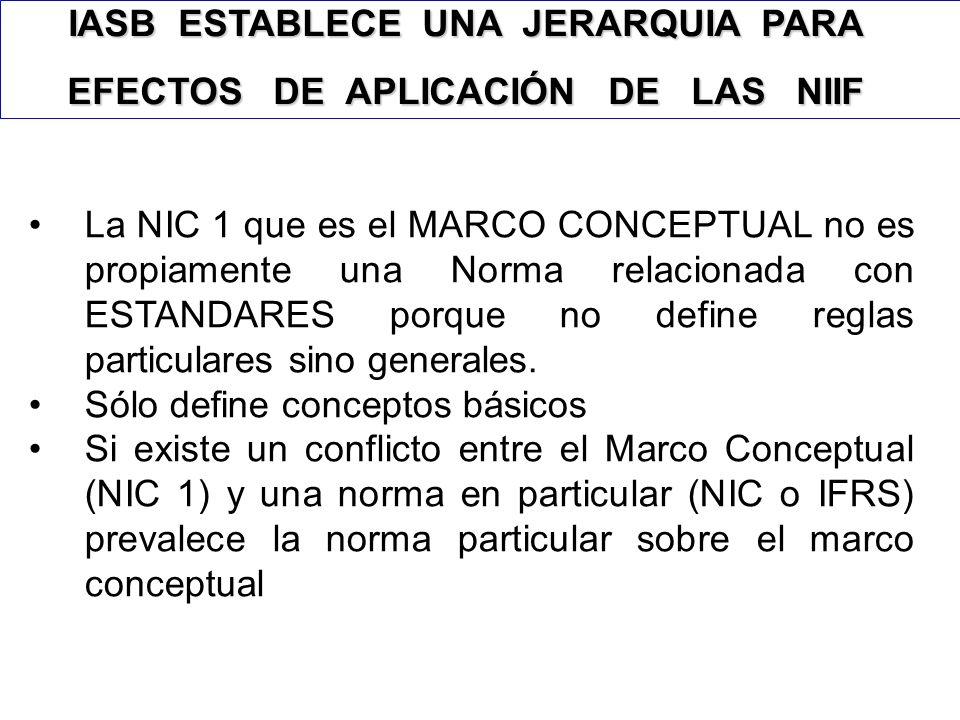 Marco Conceptual NIC-NIIF 6 Tomado de Unicauca