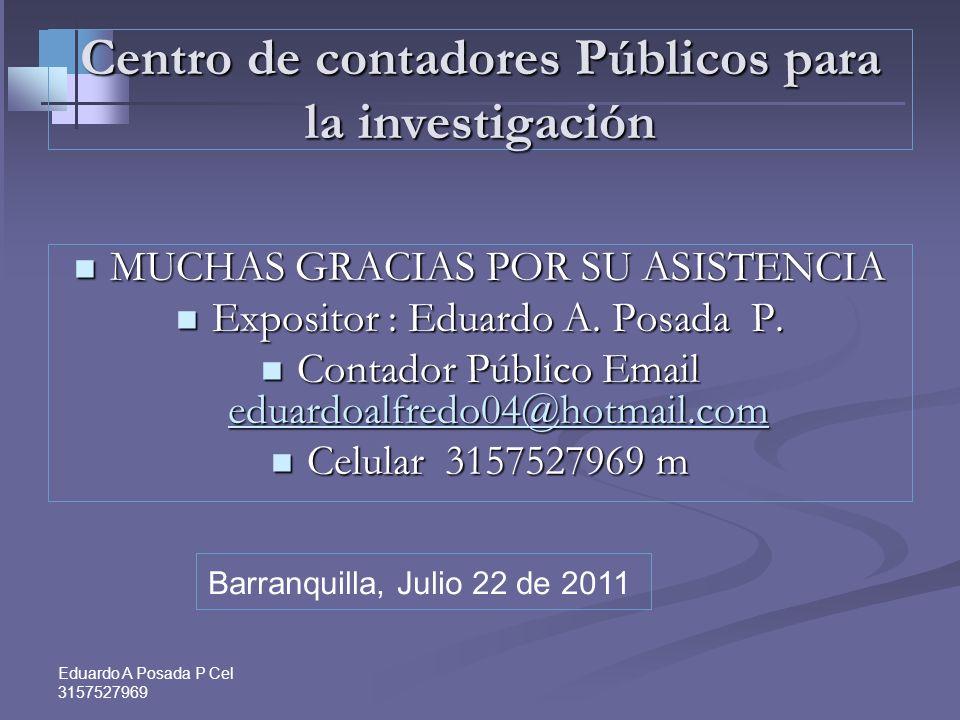 Eduardo A Posada P Cel 3157527969 ANTICIPO Caso de declaraciones cuyo plazo vence en Abril.