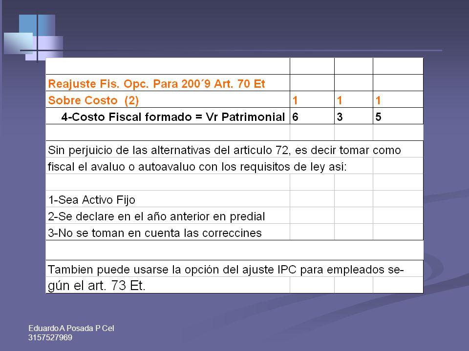 Eduardo A Posada P Cel 3157527969