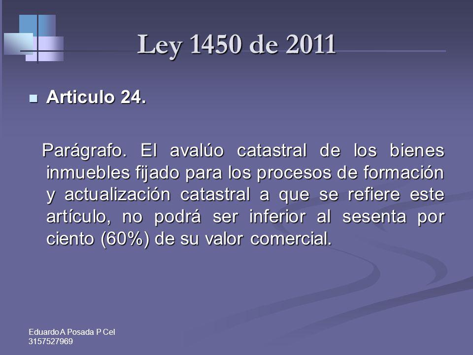 Eduardo A Posada P Cel 3157527969 Costo en caso de enajenación de inmuebles Art. 90 -69 ss y 300 Par ET Costo fiscal en caso de enajenación es: Art. 9