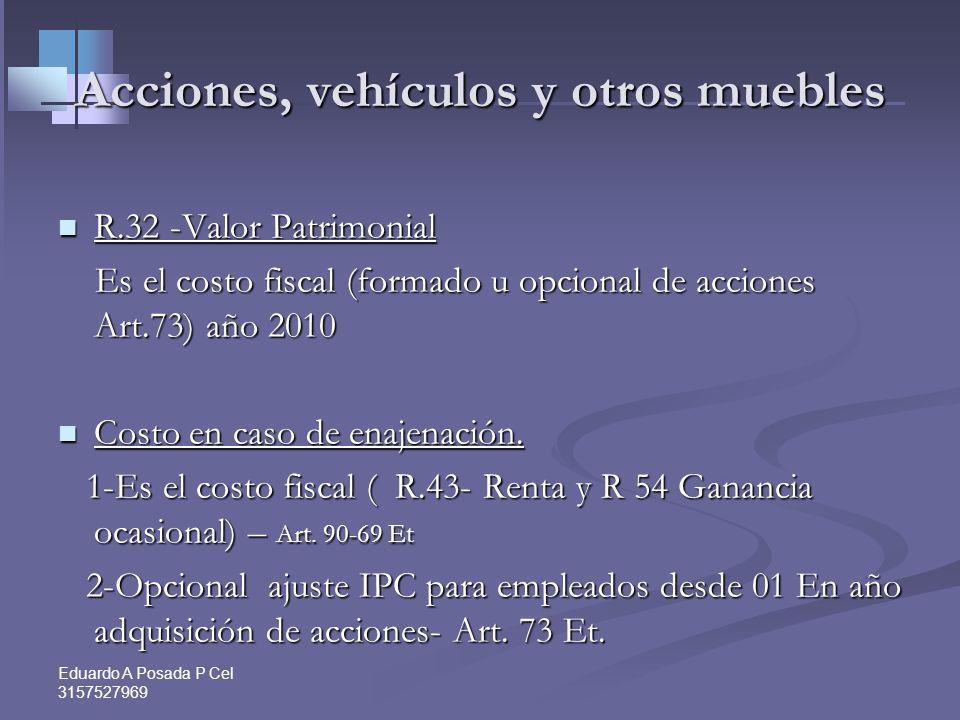 Eduardo A Posada P Cel 3157527969 Ley 1450 de 2011 Articulo 24. Articulo 24. Parágrafo. El avalúo catastral de los bienes inmuebles fijado para los pr