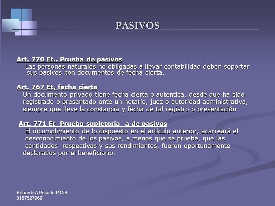 Eduardo A Posada P Cel 3157527969 CONCEPTO DEDUCCIÓN LEASING VEHICULOS PARA VISITAS MÉDICAS Dian Conc. No. 646697- de 7 de julio de 2008- y Conc. No.