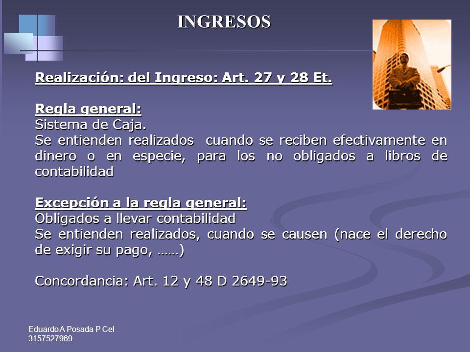 Eduardo A Posada P Cel 3157527969 PASIVOS Art. 770 Et.. Prueba de pasivos Las personas naturales no obligadas a llevar contabilidad deben soportar sus
