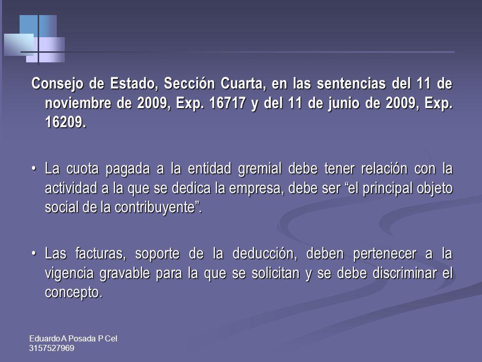 Eduardo A Posada P Cel 3157527969 Después de la Ley 1430: Artículo 116. Deducción de impuestos, regalías y contribuciones pagados por los organismos d