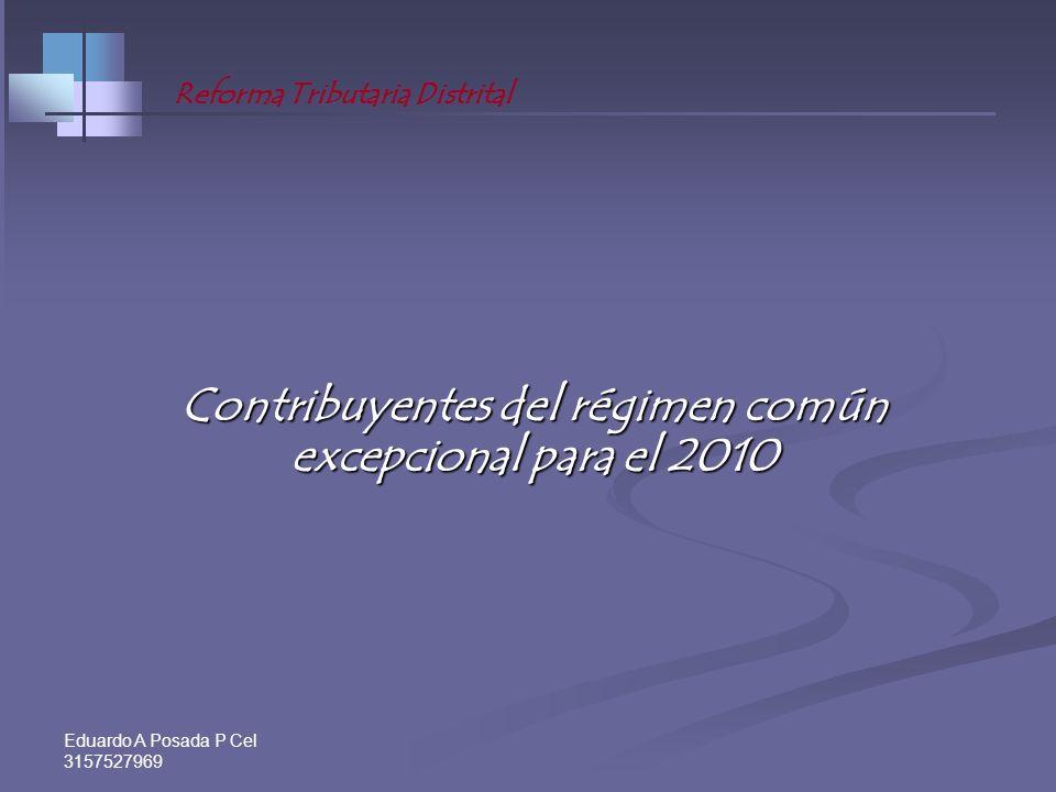 Eduardo A Posada P Cel 3157527969 Impuesto presunto a pagar en el 2011. Impuesto presunto a pagar en el 2011. (Par. 1º, Art.. 45. E. T. B. Mod. Art. 6