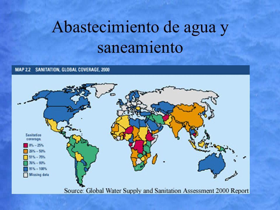 Abastecimiento de agua y saneamiento