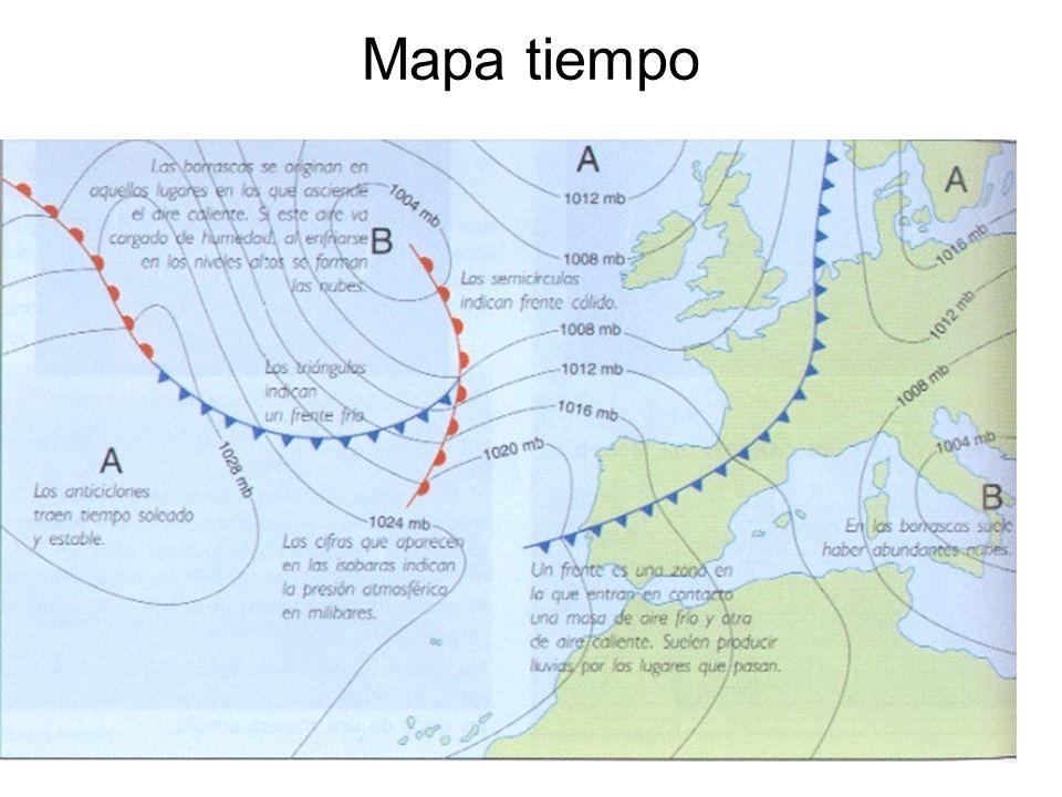 15/02/2014Pilar Morollón IES San Isidro12 Mapa tiempo