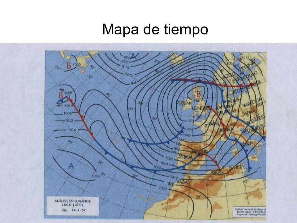 15/02/2014Pilar Morollón IES San Isidro13 Mapa de tiempo