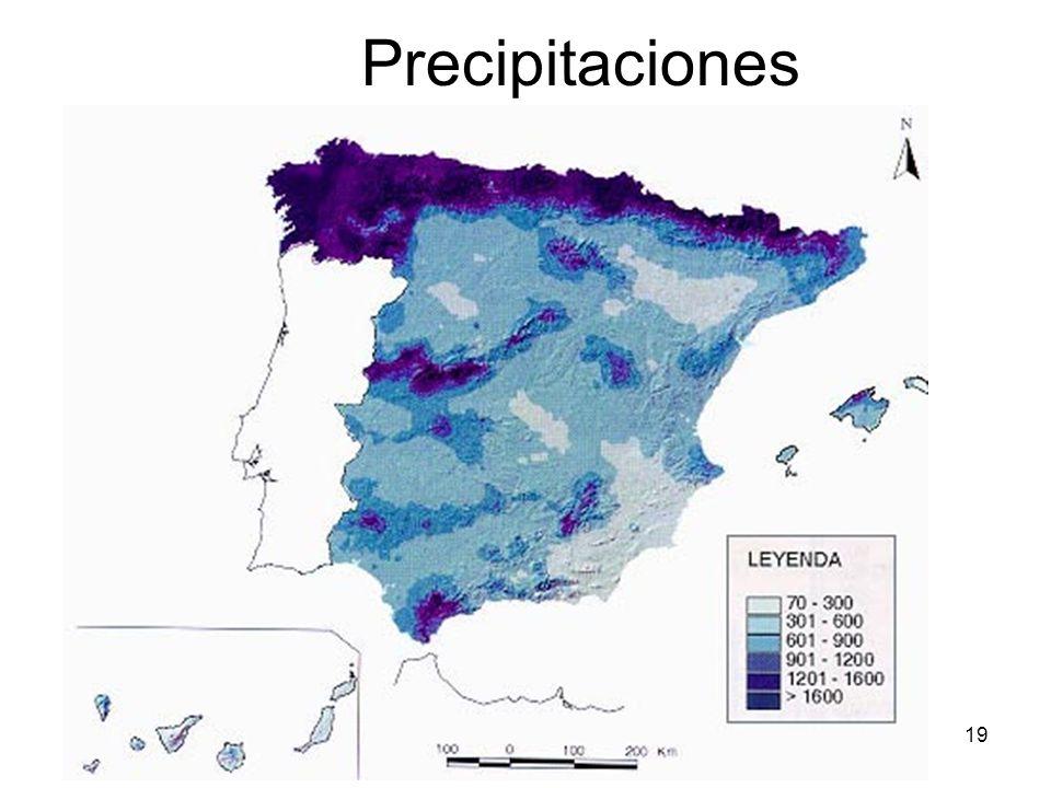 15/02/2014Pilar Morollón IES San Isidro19 Precipitaciones
