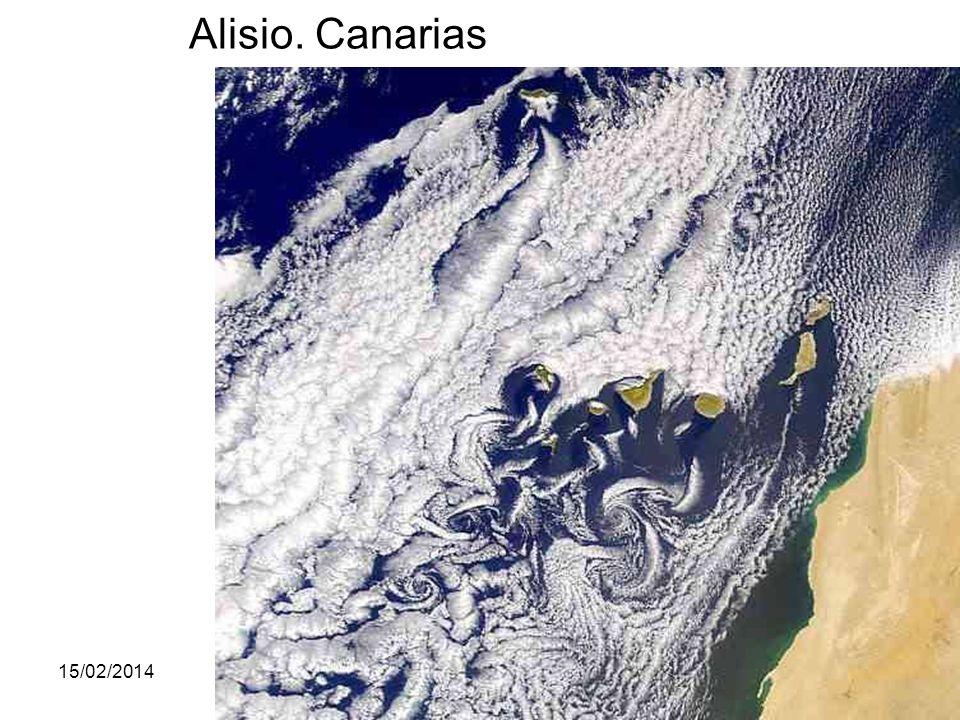 15/02/2014Pilar Morollón IES San Isidro63 Alisio. Canarias
