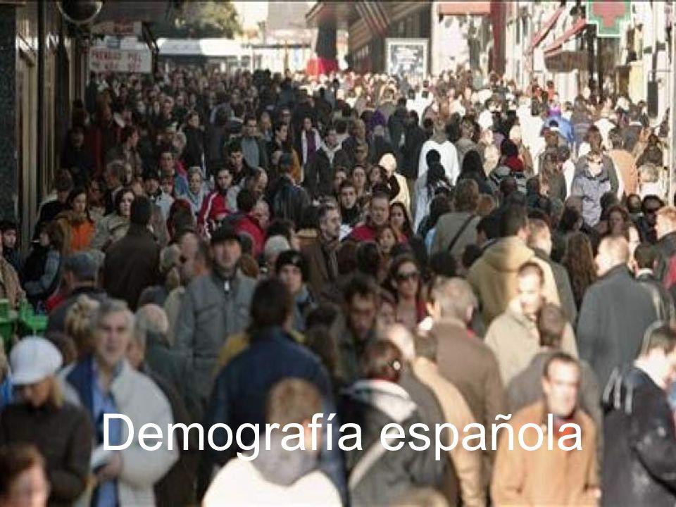 15/02/2014Pilar Morollón IES San Isidro32 Características de la población española actual Población muy envejecida.