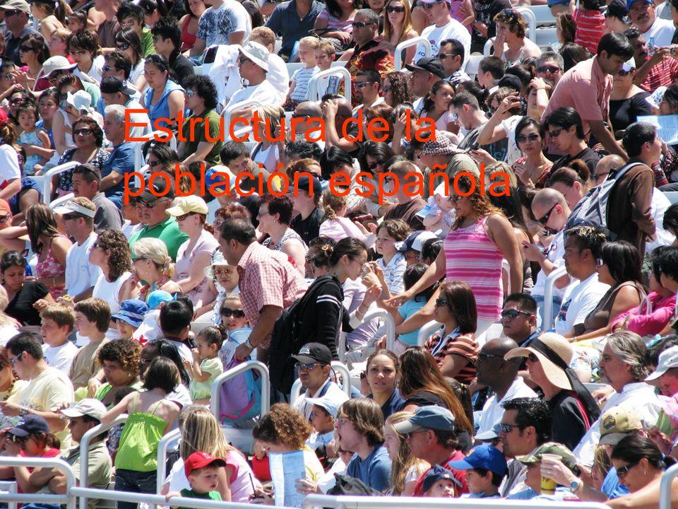 15/02/2014Pilar Morollón IES San Isidro50 Estructura de la población española