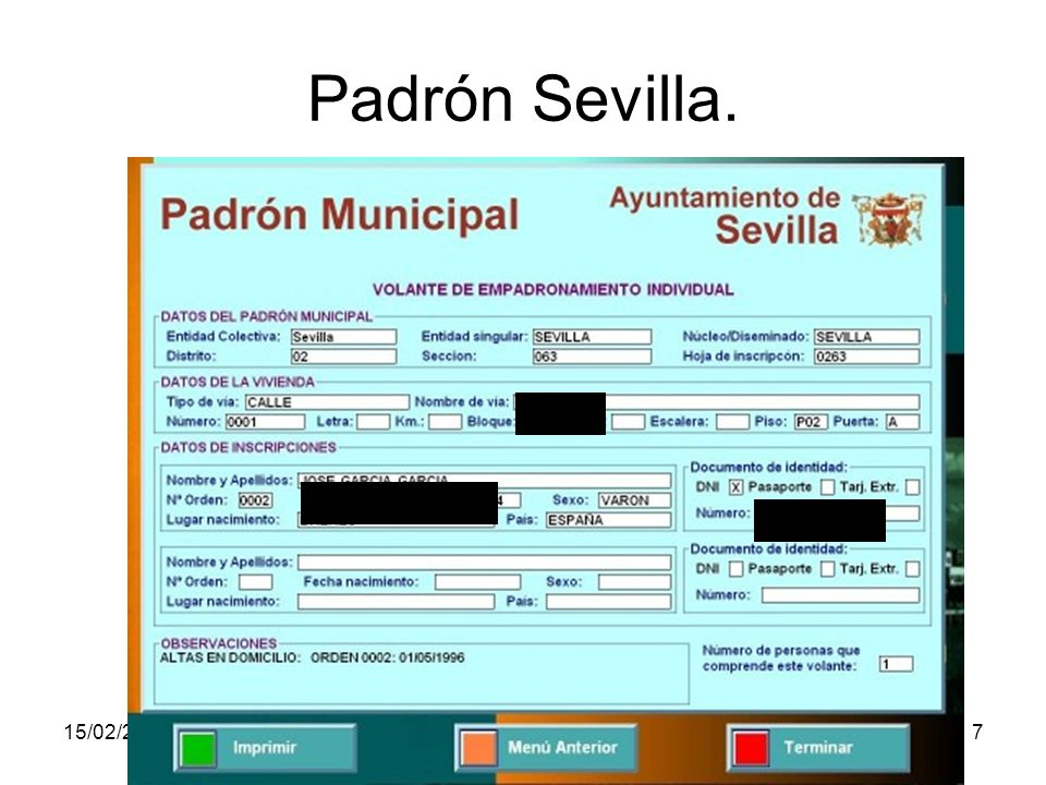 15/02/2014Pilar Morollón IES San Isidro7 Padrón Sevilla.