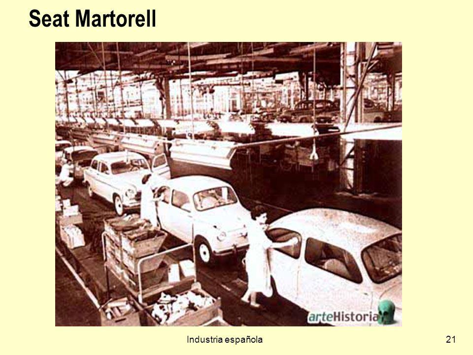 Industria española21 Seat Martorell