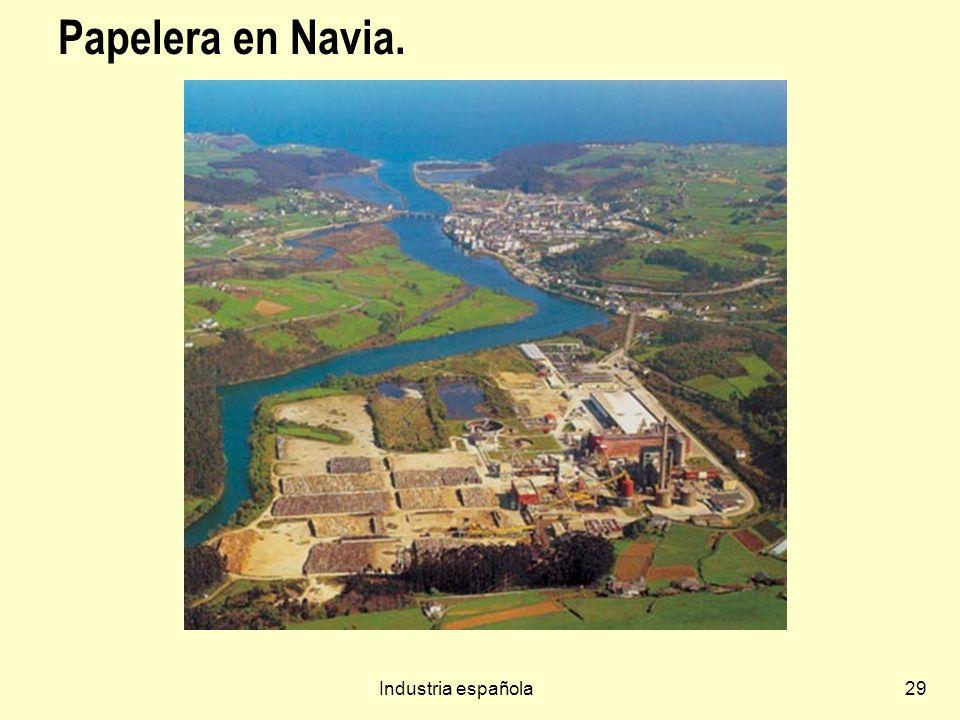 Industria española29 Papelera en Navia.
