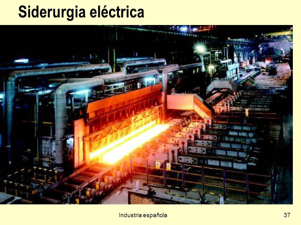 Industria española37 Siderurgia eléctrica