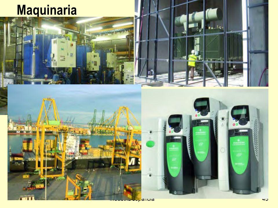 Industria española45 Maquinaria