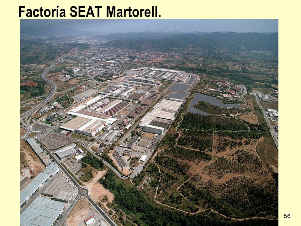 Industria española56 Factoría SEAT Martorell.