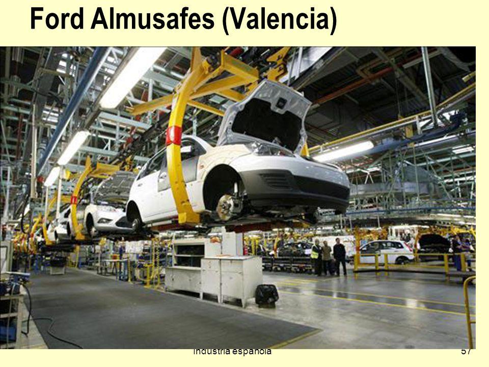 Industria española57 Ford Almusafes (Valencia)
