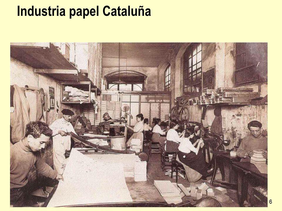 Industria española6 Industria papel Cataluña