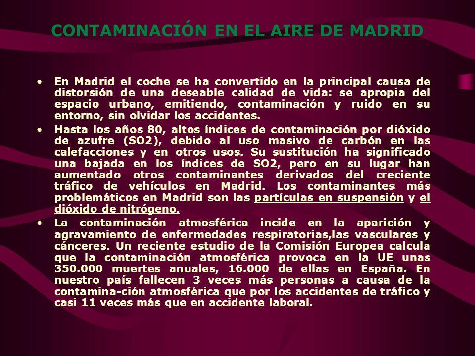 INTRODUCCIÓN: En los últimos años la ciudad de Madrid ha sufrido una fuerte modificación en su estructura urbana y de la actividad económica, lo que h