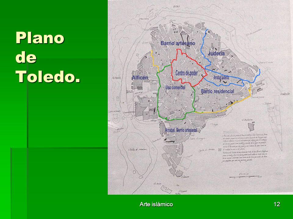 Arte islámico12 Plano de Toledo.
