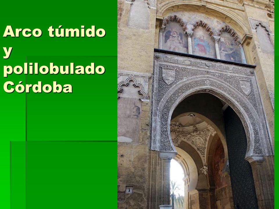 Arte islámico20 Arco túmido y polilobulado Córdoba
