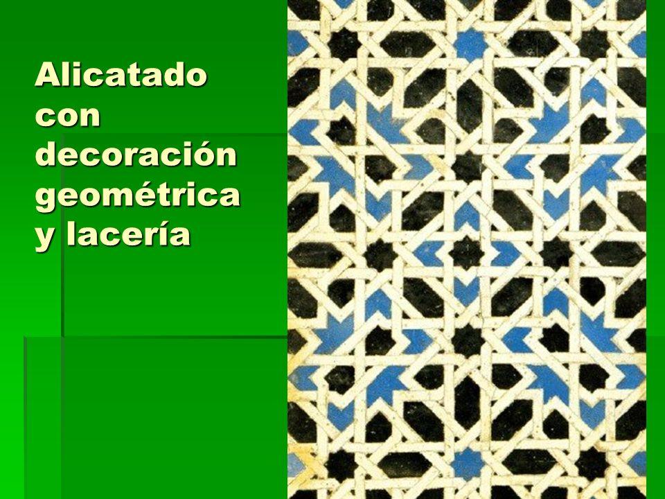 Arte islámico29 Alicatado con decoración geométrica y lacería