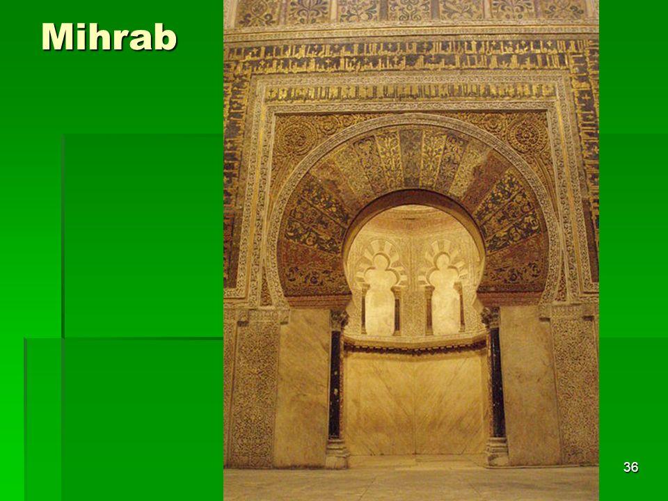 Arte islámico36 Mihrab