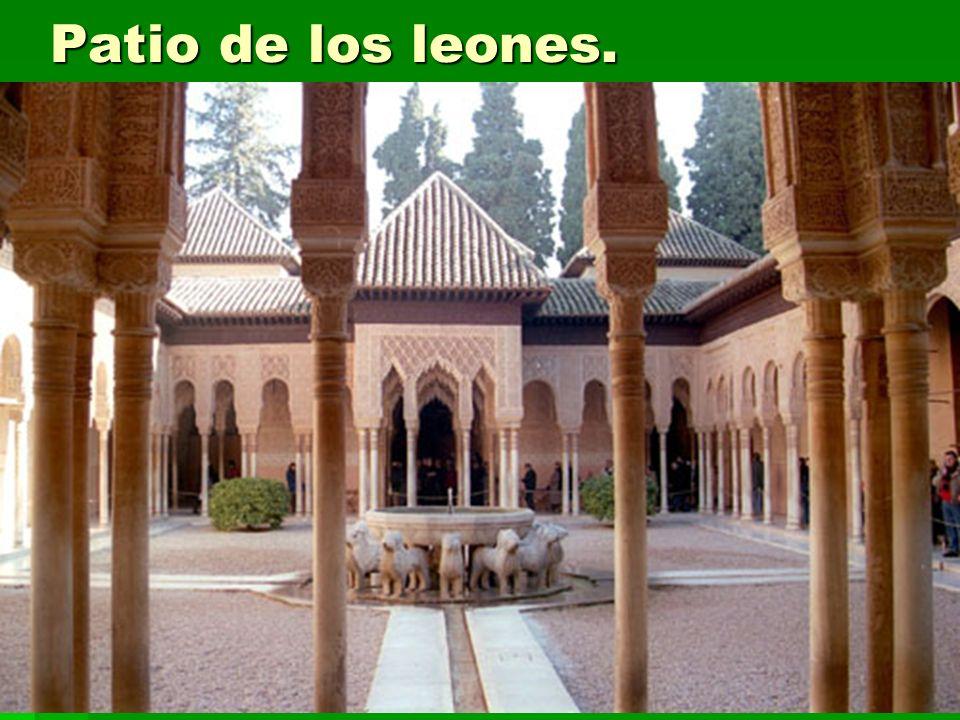 Arte islámico57 Patio de los leones.