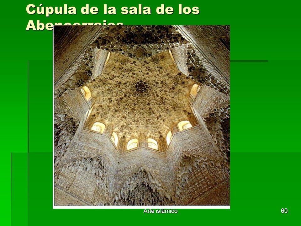 Arte islámico60 Cúpula de la sala de los Abencerrajes.